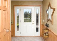 Beveled Legacy Steel Beldon Door