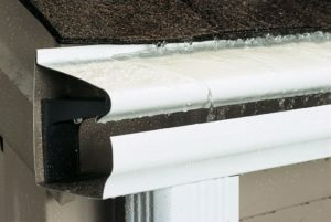 Closeup photo of a Beldon gutter